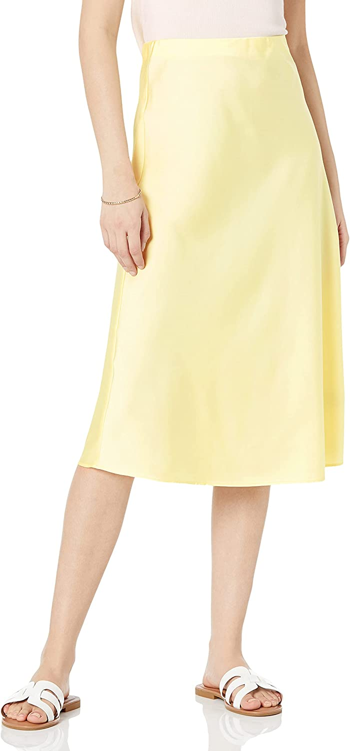 Dealing full price reduction The Drop Women's Safety and trust Maya Silky Skirt Slip