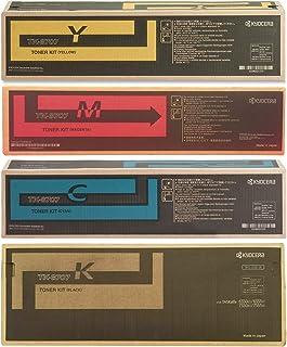 Kyocera Mita Part# TK-8707K. TK-8707C. TK-8707M. TK-8707Y Toner Cartridge Set (OEM) by Kyocera