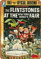 金属看板1965年の世界博覧会のFlintstone住宅装飾の壁画のポスター