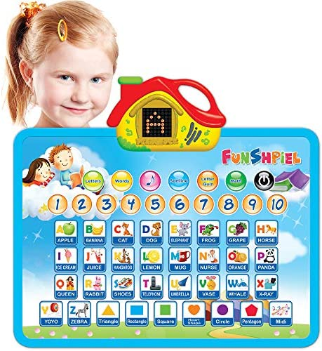 Fun Sound Board Learning Toy for Boys and Girls 3 Years Old Up Electronic ABC Educational Toy product image