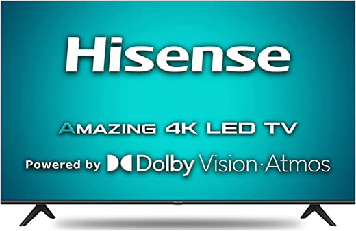 Hisense 146 cm (58 inches) 4K Ultra HD Smart Certified Android LED TV 58A71F (Black) (2020 Model) | With Dolby Vision and ATMOS 1