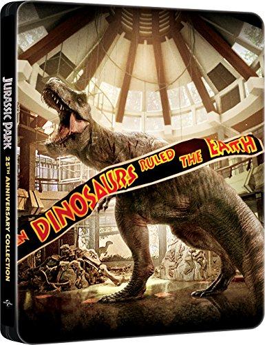 Jurassic Collection - Steelbook (4 Blu-Ray)