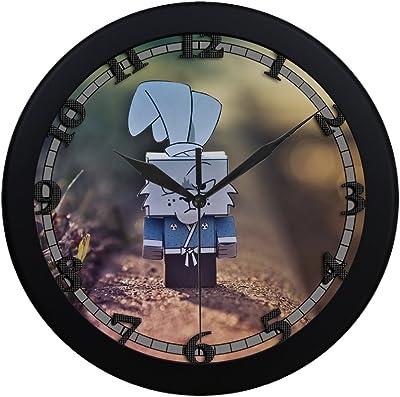 Amazon.com: mad ninja rabbit uswcjul365 New Wall Clock ...