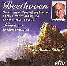 Beethoven: Variaitons On Prometheus Theme by Sviatoslav Richter (2015-06-26)