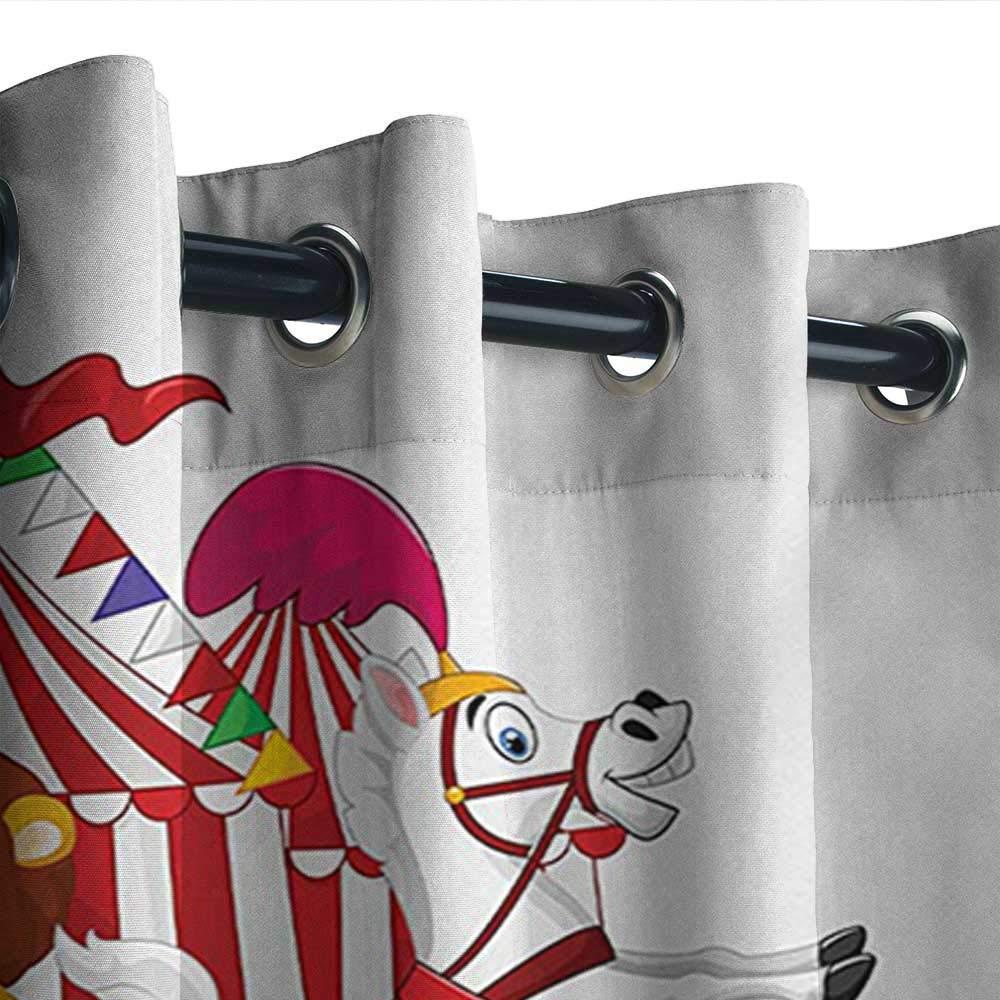 leinuoyi Circus, arandela de Cortina para Exteriores, Elementos de ...