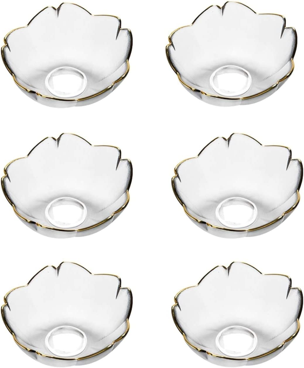 Sauce Dish Dip Max 53% OFF Popularity Bowls Stylish S Glass Multipurpose Dipping Design
