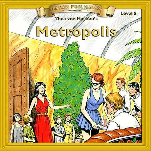 Metropolis audiobook cover art