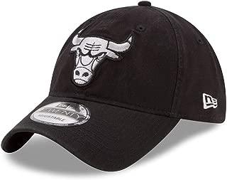 New Era Chicago Bulls Black Core Classic Twill 9TWENTY Adjustable Hat/Cap