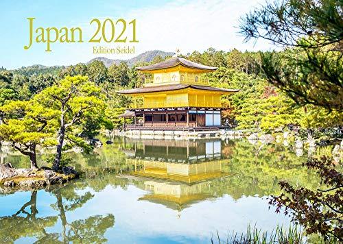 Edition Seidel Japan Premium Kalender 2021 DIN A3 Wandkalender Asien