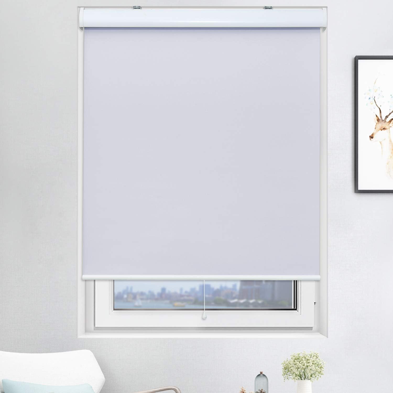 Acholo Blackout Roller Window Shades Cordless Bl Darkening Room 格安店 高品質