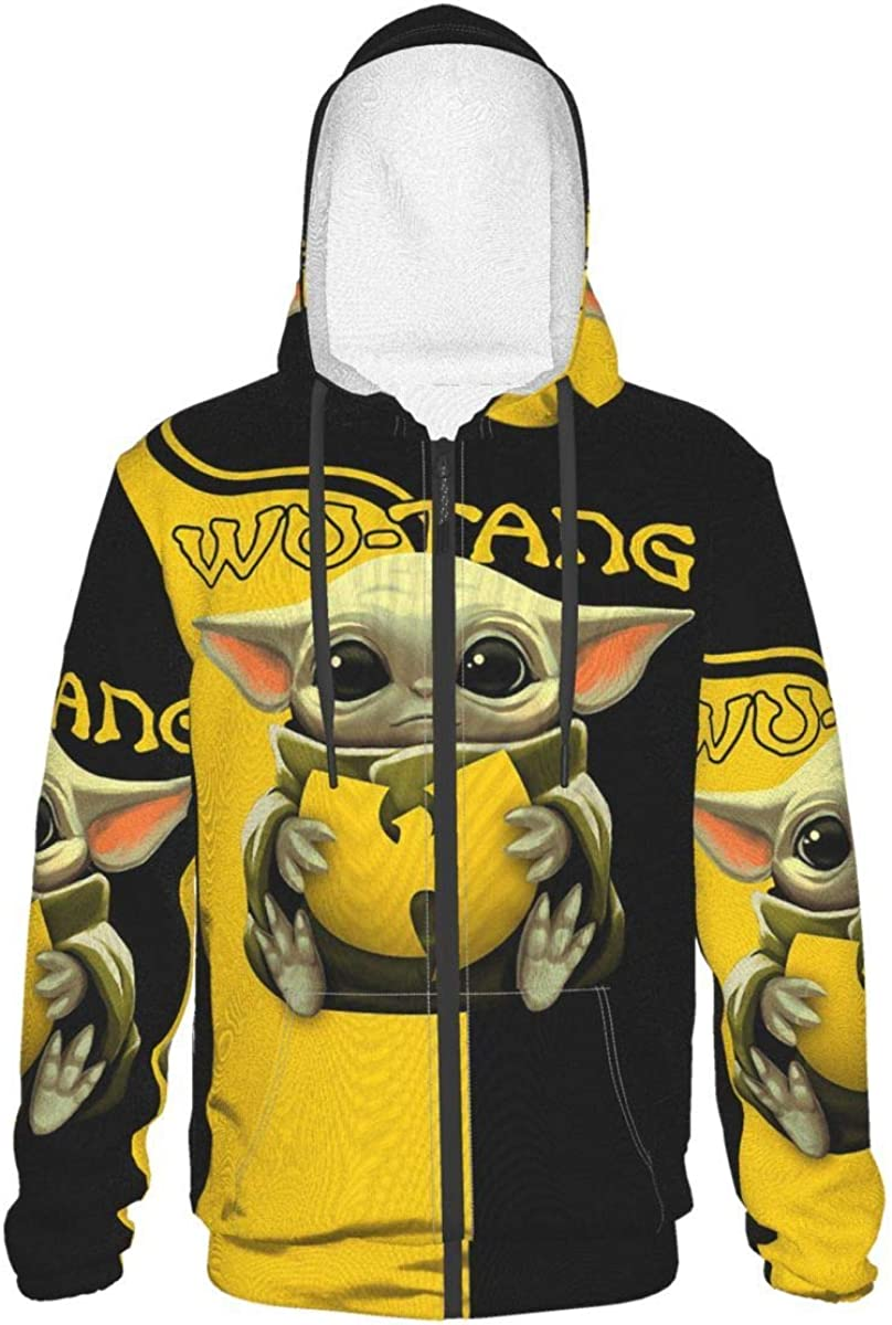 Teen NEW before selling Baby Yo-Da Hoodie Long Sleeve With Animer and price revision Pullover Zip-Up Anime 3d