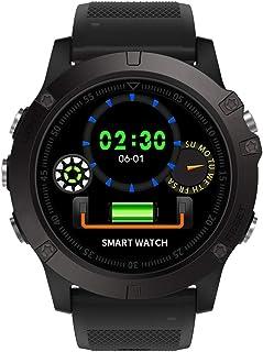 Pulsómetros Ip68 Reloj Inteligente A Prueba De Agua Monitor De Ritmo Cardíaco Monitor De Presión Arterial Reloj De Pulsera Rastreador De Actividad Física Reloj Inteligente Digital Al Aire Libre Negro