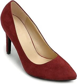Ollio Womens 2ZM9004 Pumps-Shoes