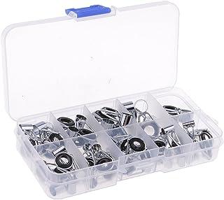 42 Stücke Silikon Und Keramik Angelrute Führungen Reparatur Kit Rod Tip Eye