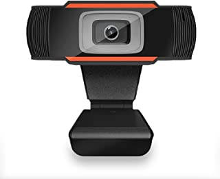 1080P Full HD Webcam with Microphone for PC Desktop Computer Laptop, USB Webcam with Mic for Online Teaching,Studying, Video Calling and Recording, Conference, Plug and Play.
