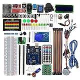 Electrónico Starter Kit Maker Fácil Operación Electrónica Componente PCB DIY Asamblea Programación Parte Durable Práctico Conveniente Set para Arduino uno R3 Aprendizaje