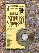 Music Minus One Soprano, Mezzo-Soprano, Tenor or Bass-Baritone Voice: Strauss German Lieder for High Voice (Book & CD) (German Edition) by Richard Strauss, John Wustman (1997) Paperback