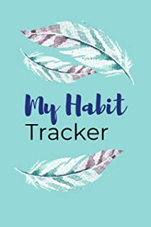 My Habit Tracker: A One Year Habit Tracking Journal to Set Goals and Create Consistency, Goal Planner, and Productivity Jo...