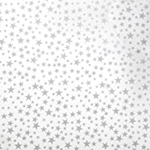 Silver Stars Tissue Paper - 20in. x 30in. - 20 Sheets