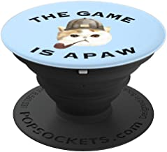 Sherlock Holmes The Game is Afoot or Apaw for Fans of Holmes - PopSockets Grip and Stand for Phones and Tablets