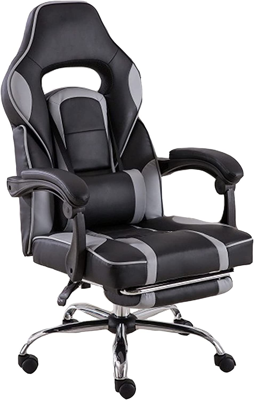 ZHAOJ PC Under blast sales Gaming Chair Computer Adjustable Ergonomic Video Philadelphia Mall
