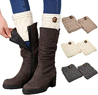 Best black boot toppers Reviews