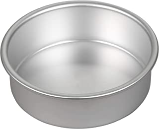 Wilton Performance Pans Aluminum Round Cake Pan, Create Delicious Cakes, Mouthwatering Quiches and More in this Durable, Even-Heating Pan, 6-Inch