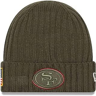 New Era San Francisco 49ers 2017 NFL Sideline Salute to Service Knit Hat