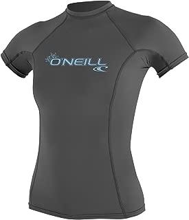 O'Neill Women's Basic 50+ Skins Short Sleeve Rash Guard