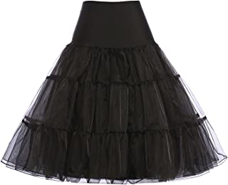 Best white 50s petticoat Reviews