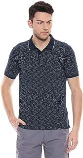 Color Plus Mens Printed Polo T-Shirt