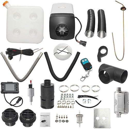 Más asequible Zinniaya 8kw   12v Solo Solo Solo LCD con silenciador de Control Remoto Diesel Calentador de Aire  mejor precio