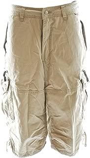 Molecule Men's Relaxed Fit Knee Hugger Cargo Shorts - Longer 3/4 Length Cargos
