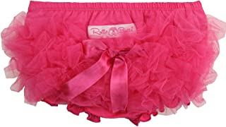 Baby/Toddler Girls Knit Diaper Cover Tutu Bloomer w/Frilly Mesh Ruffles
