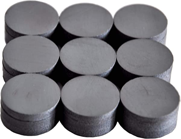 Cutequeen 27PCS Round Ceramic Industrial Ferrite Magnets For Hobbies Crafts Science And Refrigerator Magnet