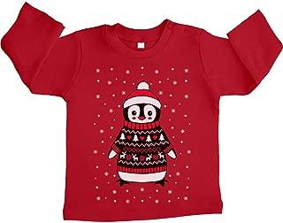 X-mas Weihnachten Baby Jungen Pullover Strick Strickpullover Rentier 56 62 68
