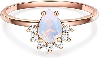 Suchergebnis auf für: ring rosegold mondstein: Schmuck