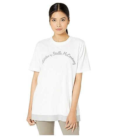adidas by Stella McCartney Script Logo Tee FK9695 (White) Women