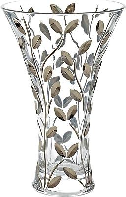 d8f20e549 CRISTALICA Exclusive glass vase EDELRAUSCH 29,5 cm, glass, modern style  (GERMAN
