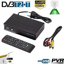 LFJNET Classic DVB-T2 TV Tuner Terrestrial Receiver DVB S/S2 Digital Satellite Receiver Support H.265 AC3 Dobly