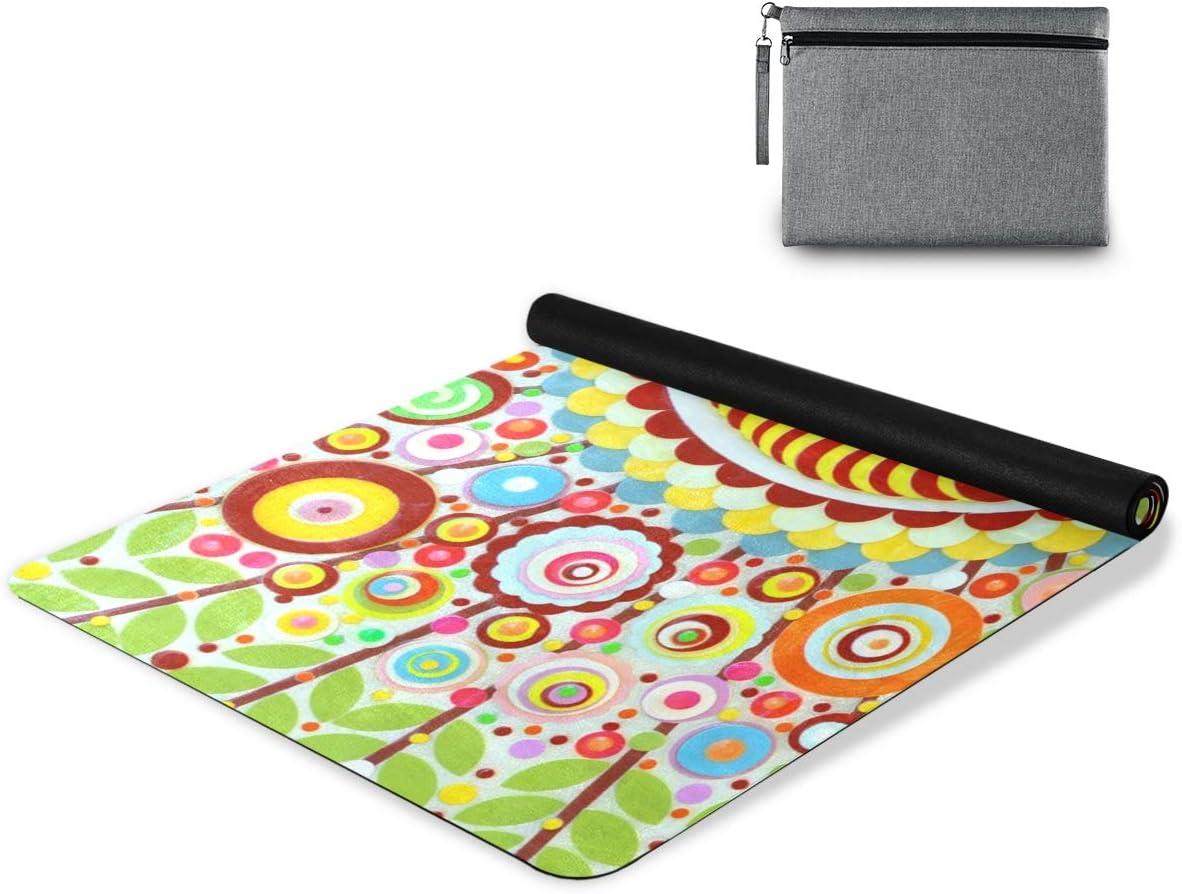 senya Non Slip Yoga Towel Microfiber Combo Mandala Set Colorado Springs Mall Mat Max 46% OFF