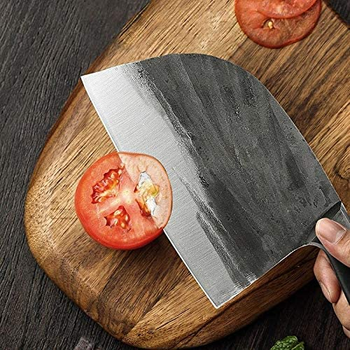 Chef Knives5CR15 Stainless Steel 7 Ha Opening large release sale inch Forging Seasonal Wrap Introduction Butcher Knife
