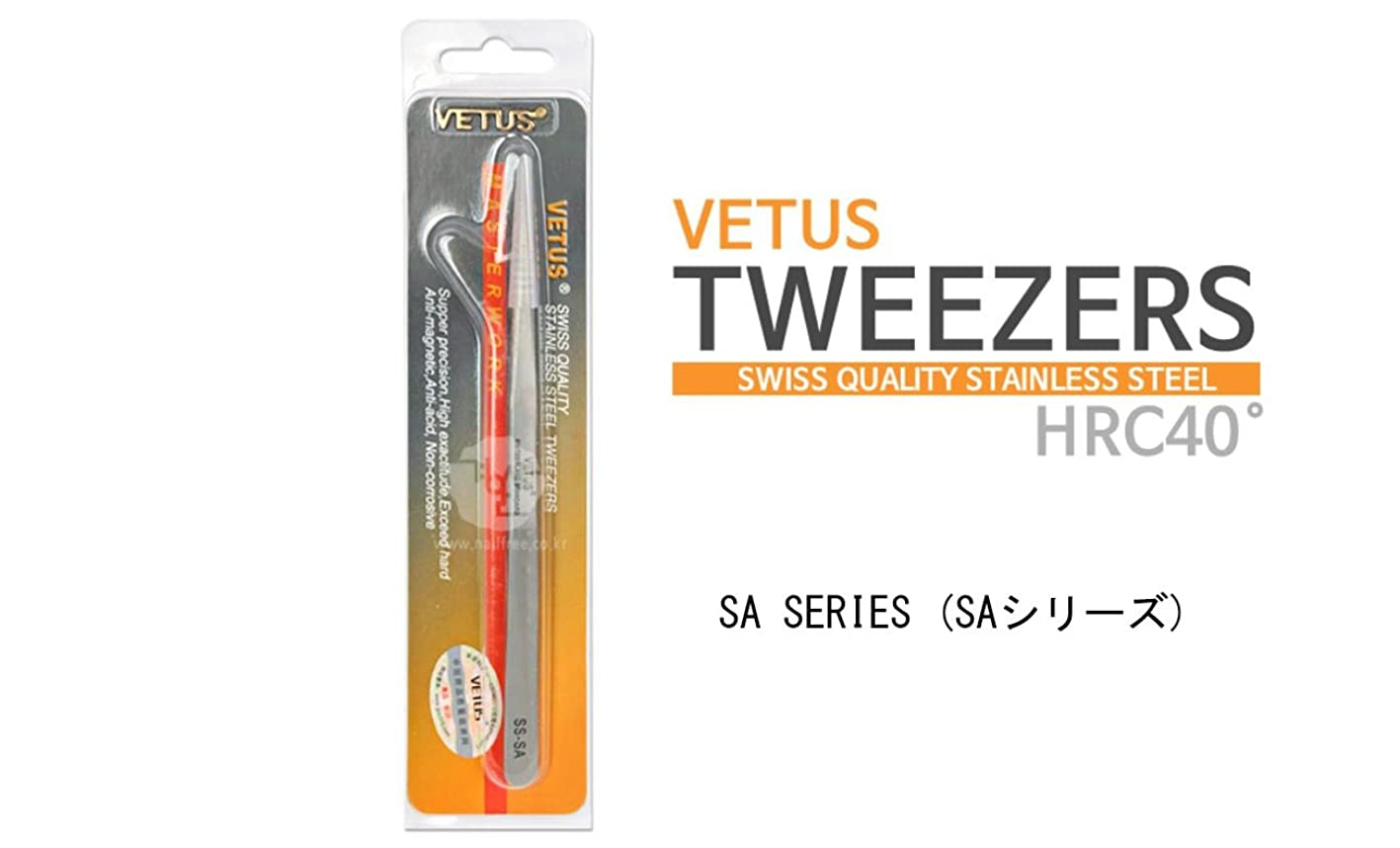 換気する不健康別に【ヴェトス】VETUS SA SERIES TWEEZERS ヴェトスSAシリーズピンセット (4.5A-SA) [並行輸入品]