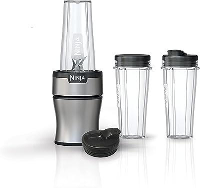 Ninja BN301 Personal Nutri-Blender Plus Compact, 900-Peak-Watt Motor, Silver