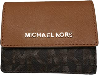 86e3d12478c9 Michael Kors Jet Travel Credit Card Case ID Wallet with Key Ring