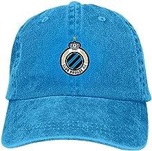 CHENBANG Club Brugge KV 100% Washed Cotton Plain Baseball Caps Polo Style Cowboy hat Adjustable Size Baseball Cap Dad Hats