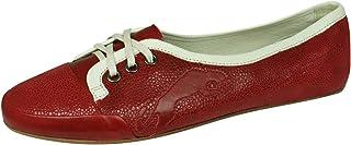 PUMA Rudolf Dassler Damenwahl Womens Leather Ballet Pumps/Shoes