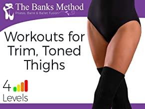 Trim, Toned Thighs Workout Challenge | The Banks Method: Pilates, Barre and Ballet Fusion