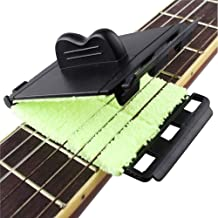 Beleciet ギター弦クリーナー 2個セット ポリッシュクロス メンテナンス用品 アコギ ベース エレキ ウクレレ