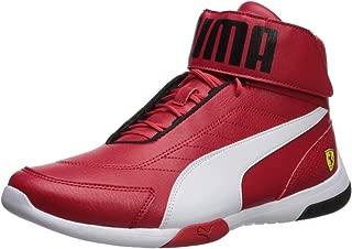 PUMA Men's Ferrari Kart Cat Mid Iii Sneaker